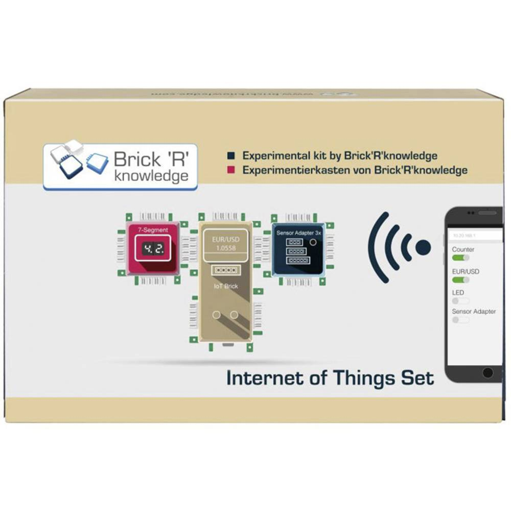 Science Kit Set Brickrknowledge Internet Of Things Iot Electronic Circuit Knowledge 138090
