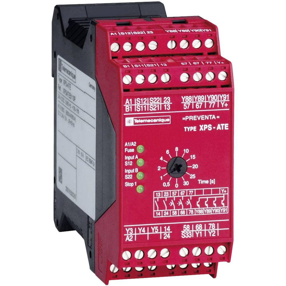 Safety Relay 1 Pcs Xpsate5110 Schneider Electric Operating Voltage Time 24