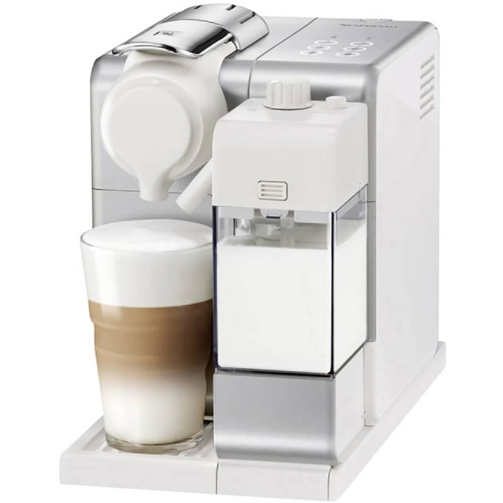 DeLonghi EN560.S 0132193291 Capsule coffee machine Silver One Touch, incl. milk jug, incl. capsules