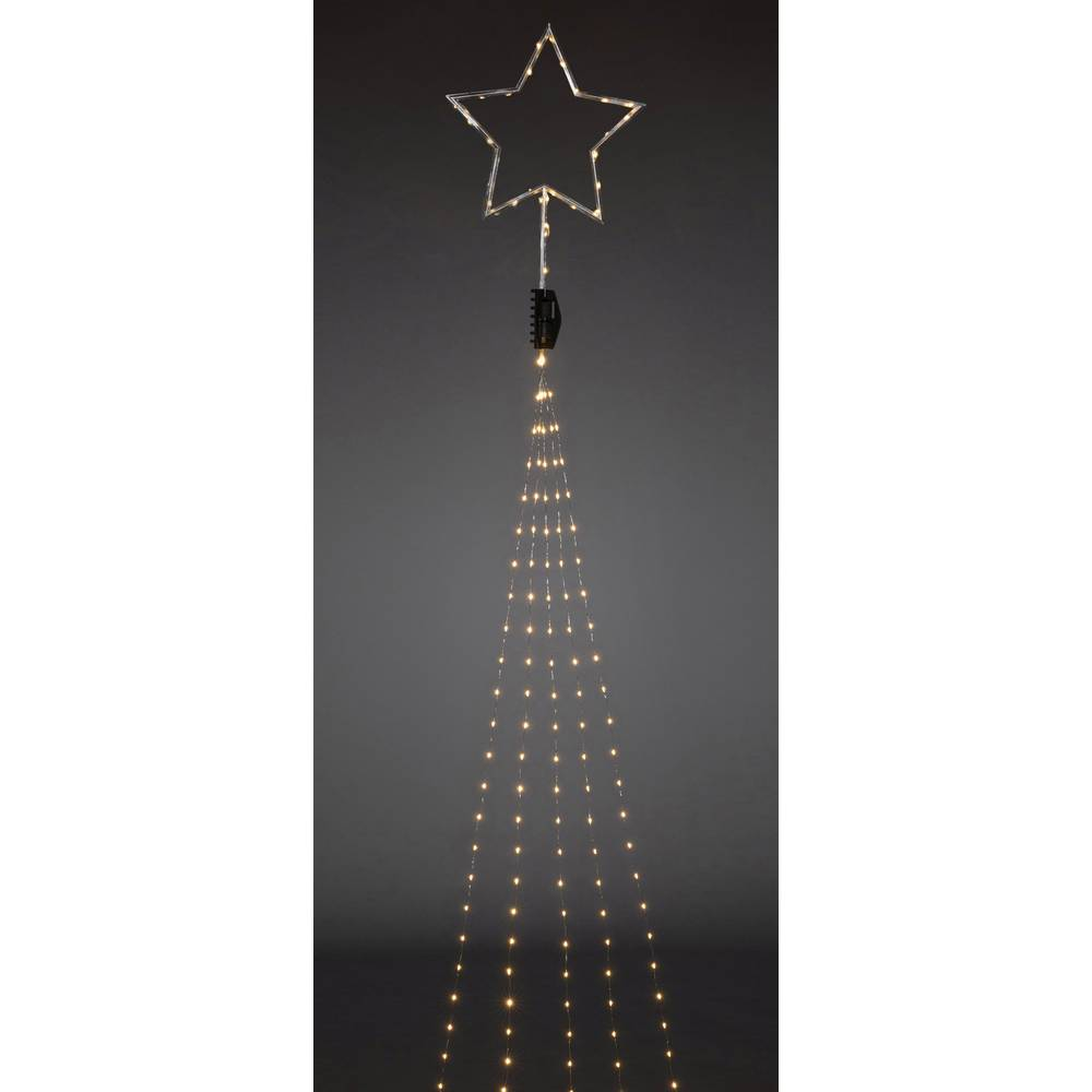 konstsmide 6315 890 led christmas tree chain lights inside mains powered led amber