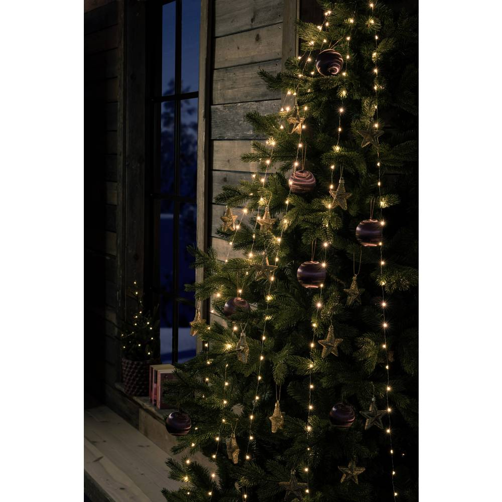 konstsmide 6577 870 led christmas tree chain lights inside mains powered led monochrome amber