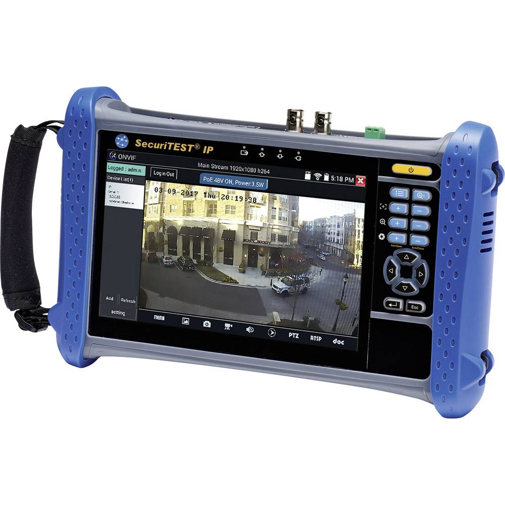 Cctv Camera Tester Ideal Networks Securitest Ip From Kabel Hdmi To 10meter Tv Monito Kamera Laptop