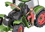 Model kit tractor & trailer with figure