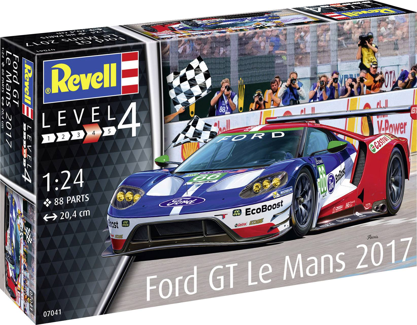 Revell 07041-1//24 Ford Gt le Mans 2017 Neuf