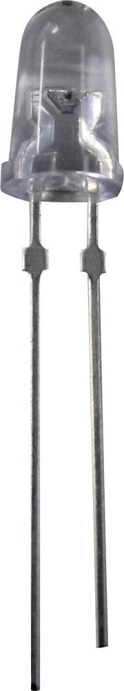 Ožičena LED dioda, zelena, okrogla 5 mm 37700 mcd 15 ° 20 mA 3.2 V Nichia NSPG500DS