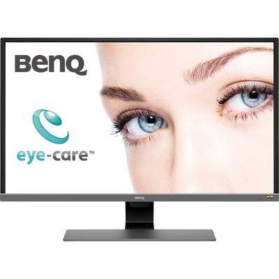 Image of BenQ EW3270U 31.5 Inch Monitor - Metallic Grey
