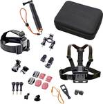 Action camera accessories set outdoor for Rollei Action Cams and GoPro