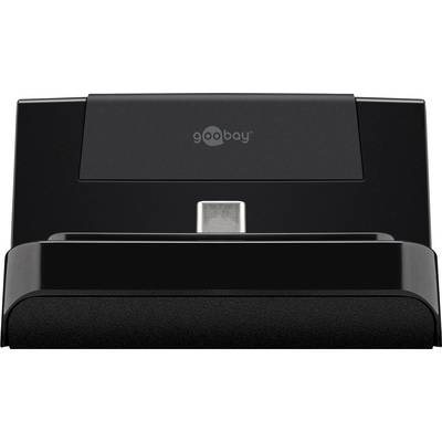 Image of Goobay 62076 USB-C™ Mobile phone docking station Black N/A