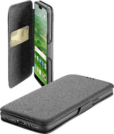 Search and compare best prices of Cellularline BOOK CLUTCH Booklet Compatible with (mobile phones): Huawei P20 Black in UK