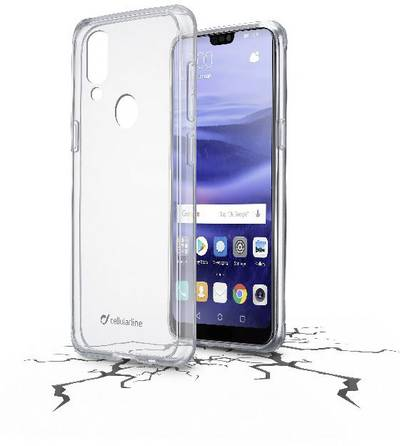 Search and compare best prices of Cellularline CLEAR DUO Back cover Compatible with (mobile phones): Huawei P20 Lite Transparent in UK