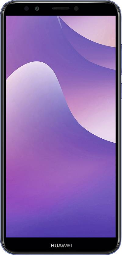 """Huawei Y7 2018 Smartphone Hybrid slot 16 GB 15.2 cm (5.99 """") 13 MPix Android™ 8.0 Oreo Blue"""