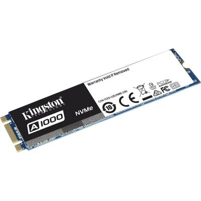Kingston SA1000M8/480G SATA M.2 internal SSD 2280 drive 480 GB Retail PCI-Express