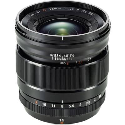 Wide-angle Fujifilm XF-16 mm
