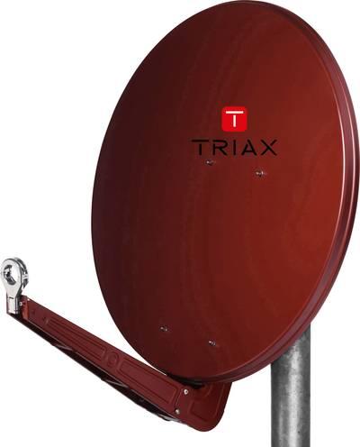 Triax FESAT 85 HQ SAT antenna 85 cm Reflective material: Aluminium Brick red