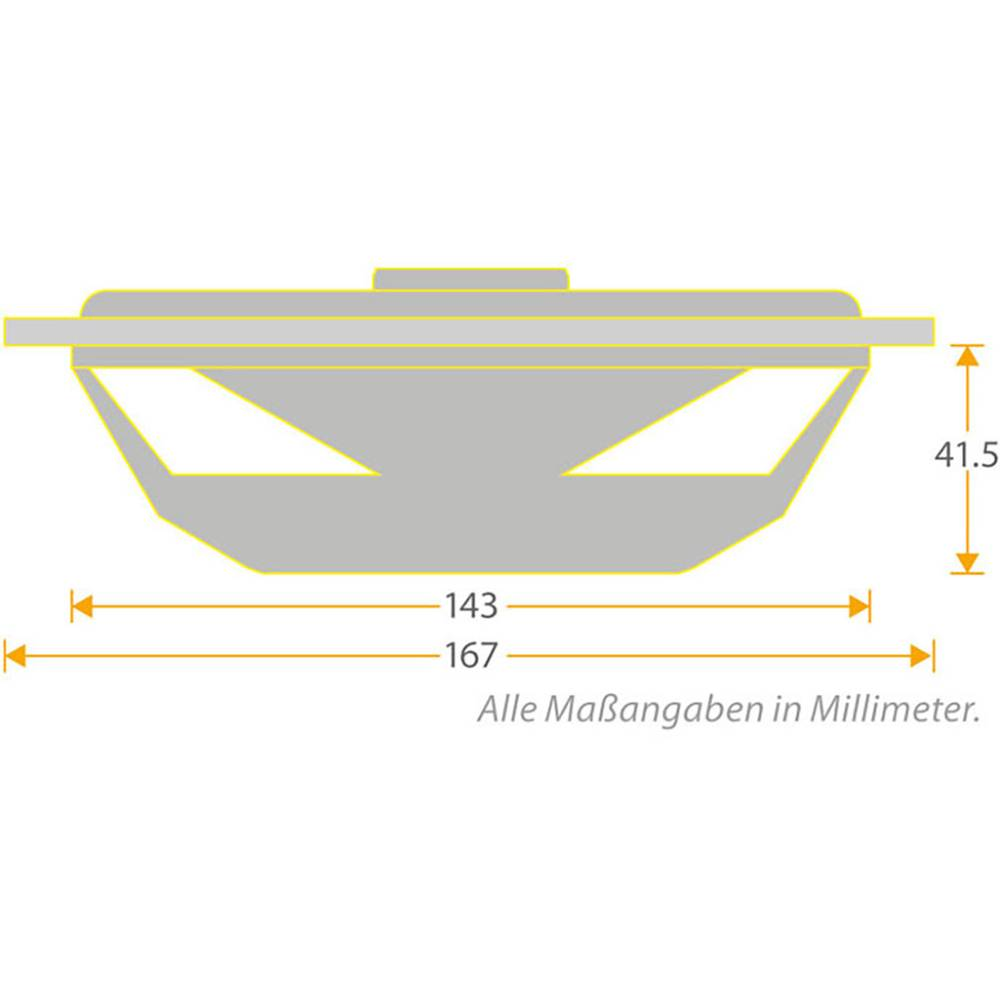 Sinuslive Exmod Flatkick Car Subwoofer Enclosure 250 W From Box Diagram
