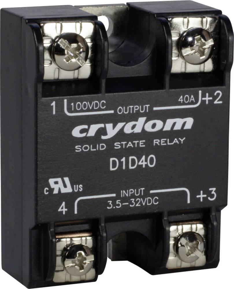 Elektronski bremenski rele z DC-izhodom serije 1-DC Crydom D5D10 Tok bremena 10 A Preklopn