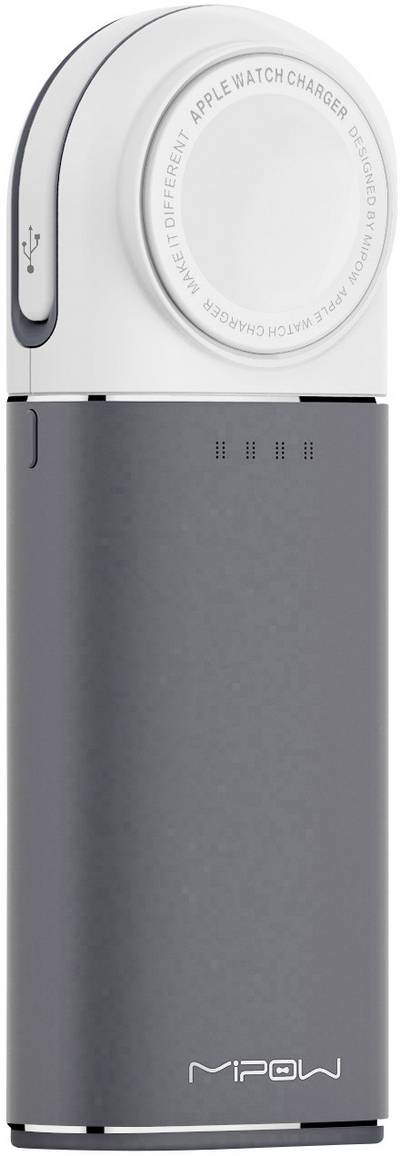Mipow Wireless charging powerbank 6000 mAh Apple Watch SPL11W2-G cheapest retail price