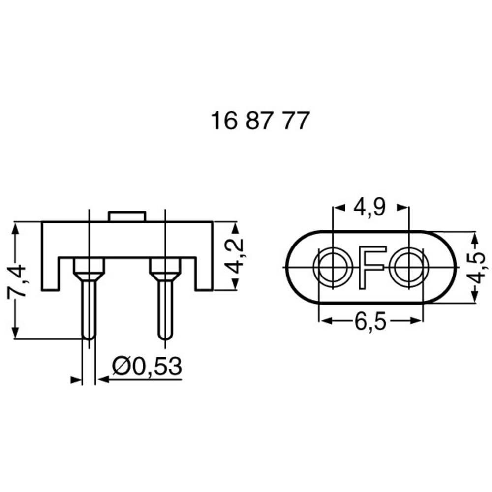 Crystal Oscillator Socket Fischer Elektronik Pq 18 Z Hc L X W Circuits H 42 45 65 Mm 1 Pcs