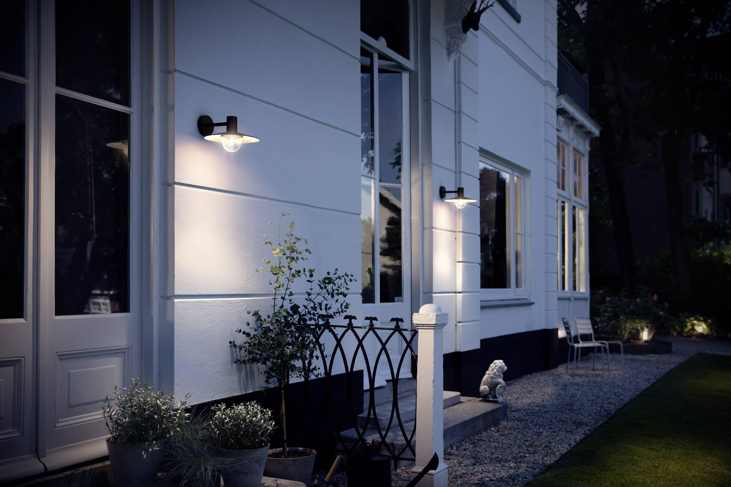 Philips skua pn outdoor wall light led e w eec