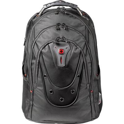 Wenger Laptop backpack Ibex Black Ballistic, 125th Anniversary Suitable for max: 43,9 cm (17,3) Black