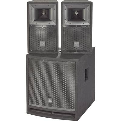 Renkforce M.I.L.L.Y IV Active PA speaker set incl. subwoofer