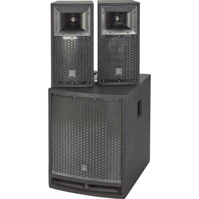 Renkforce M.A.R.L.I.S IV Active PA speaker set incl. subwoofer