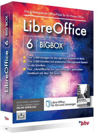 Bhv Verlag Libreoffice 6 Bigbox Full Version 1 License