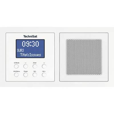TechniSat UP 1 DAB+ Radio base component Bluetooth, DAB+, FM White