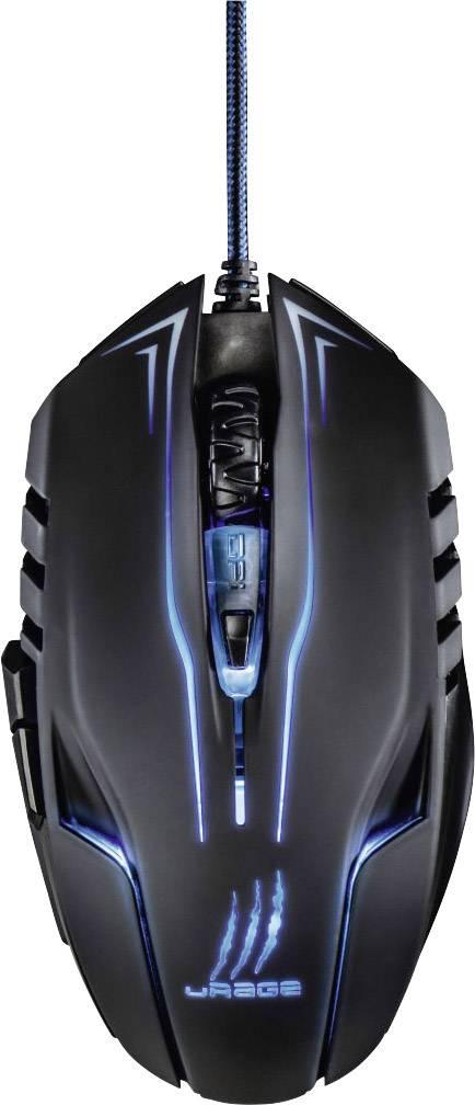 58b665850de Hama uRage Reaper Ess. USB gaming mouse Optical Ergonomic, Backlit ...