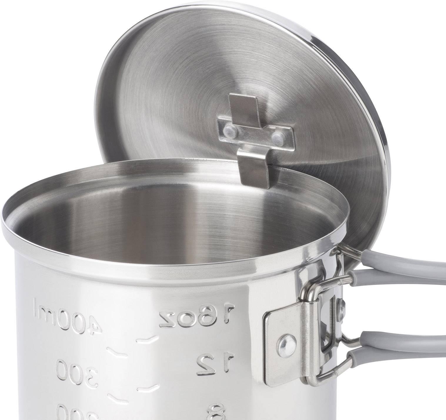Aluminium Esbit Trockenbrennstoff-Kochset
