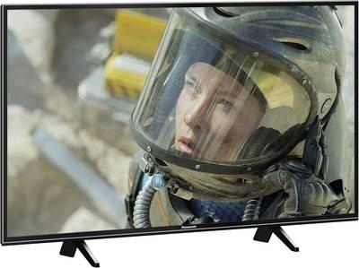 Image of Panasonic TX-43FXW654 LED TV 108 cm 43 EEC B (A++ - E) DVB-T2, DVB-C, DVB-S, UHD, Smart TV, WLAN, PVR ready, CI+ Black