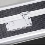 Aluminum bag with raster foam 445 x 370 x 145