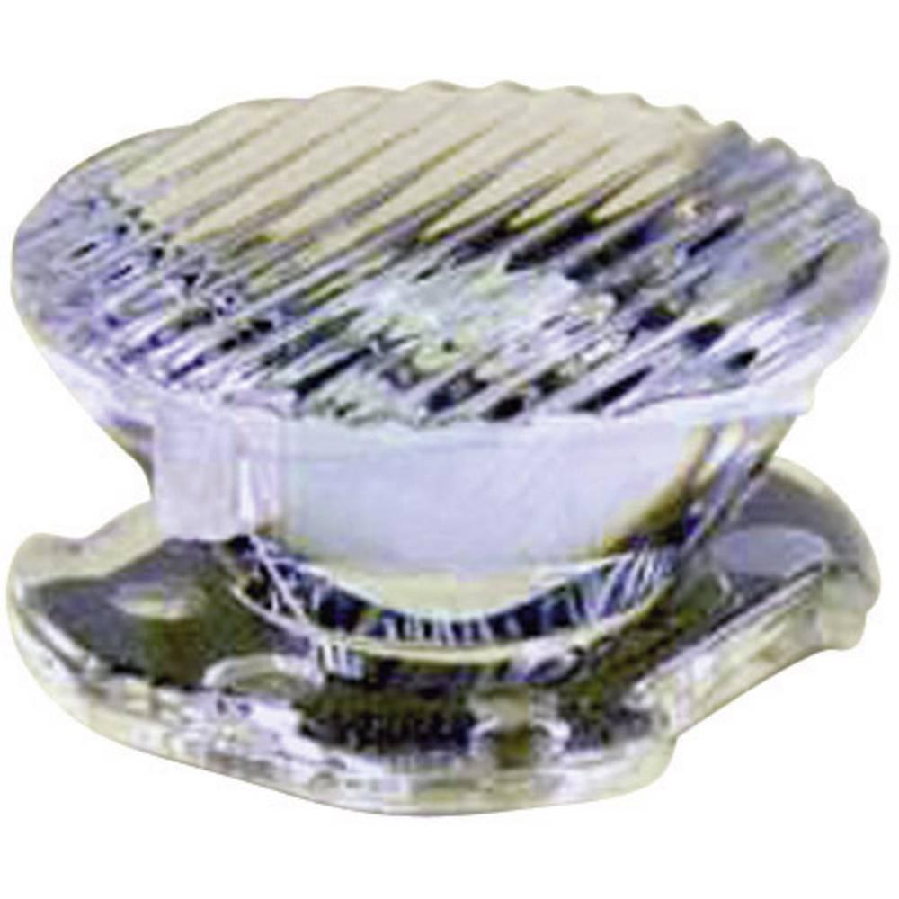 LED optika, čista, rebrasta prozirna 8 °, 25 ° broj LED dioda (maks.): 1 za LED: Luxeon® Rebel Dialight Lumidrives OPC1-1-OV