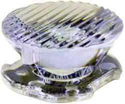 LED optika, čista, rebrasta prozorna 8 °, 25 ° št. LED diod (maks.): 1 za LED: Luxeon® Rebel Dialight Lumidrives OPC1-1-OVAL