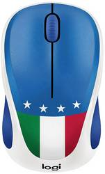 d7a21df1609 Logitech M238 Italy Wireless mouse Optical Green, White, Red ...