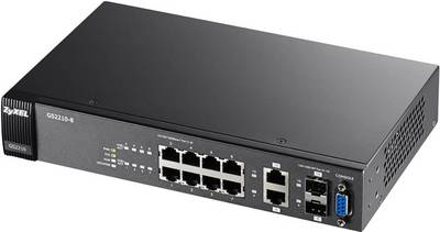 ZyXEL GS2210-8 Network switch 8 + 2 ports