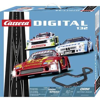 Carrera 20030002 DIGITAL 132 DRM Retro Race Starter kit