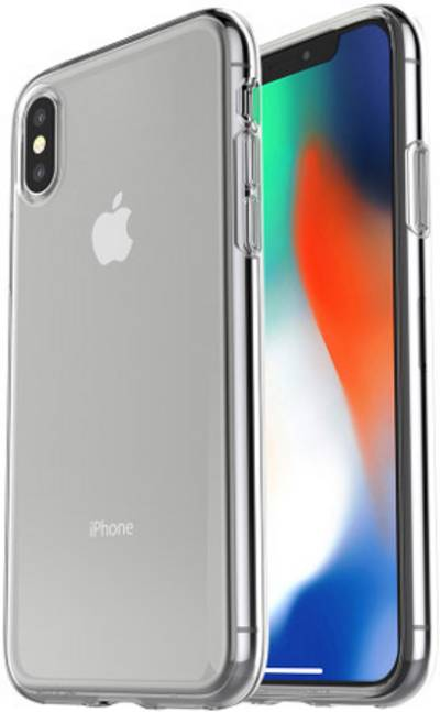 Image of Otterbox Clearly Protected Skin + Alpha Glass Glass screen Compatible with (mobile phones): Apple iPhone X 1 pc(s)