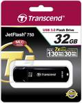 Transcend USB stick JetFlash™ 750K 32 GB USB 3.0, black