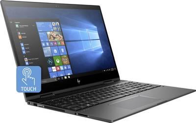 Image of HP Envy x360 15-cn0003ng 39.6 cm (15.6 ) Laptop Intel Core i5 8 GB 1024 GB HDD 256 GB SSD Nvidia GeForce MX150 Microsoft Windows® 10 Grey-aluminium