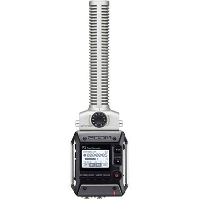 Portable audio recorder Zoom F1-SP Grey, Black