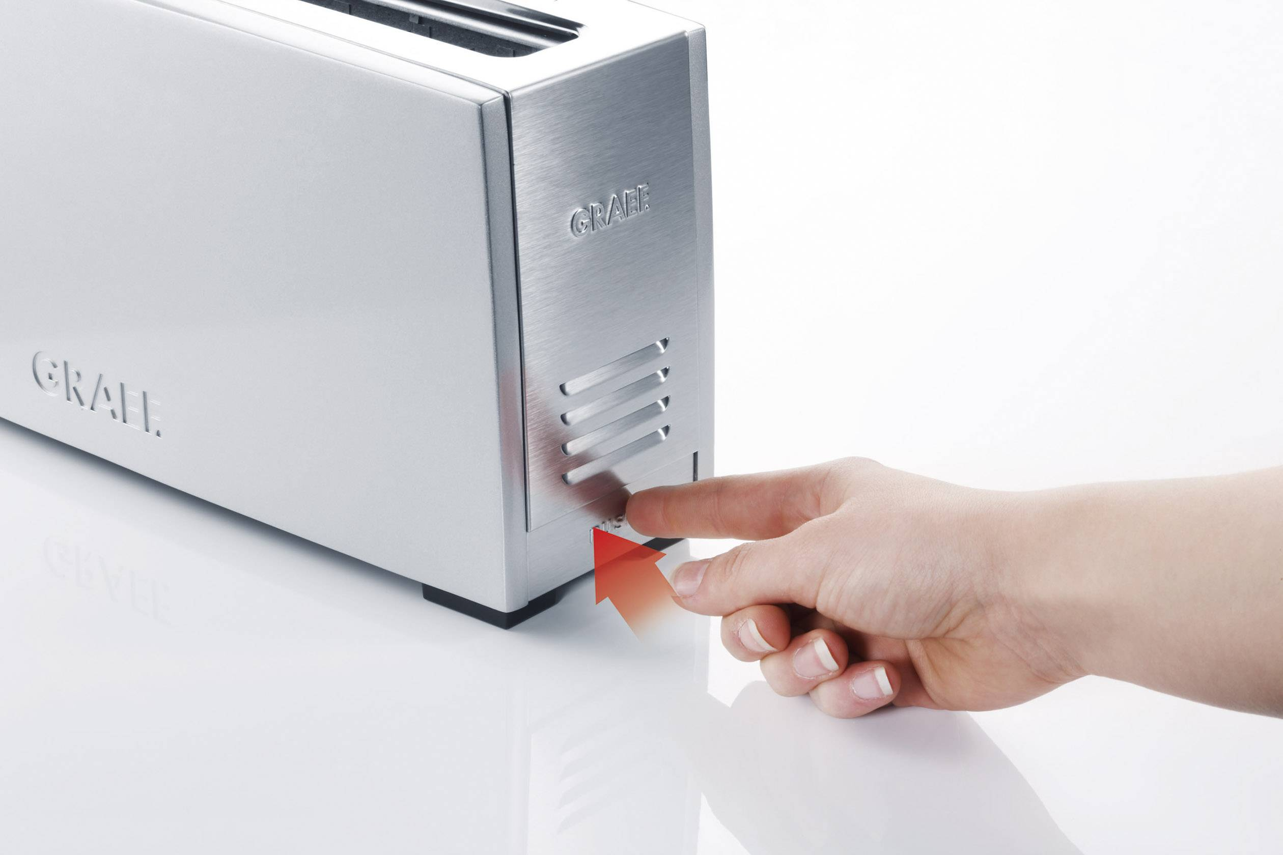 Graef TO 90 Toaster silber Toaster