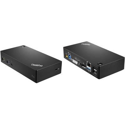 Image of Lenovo ThinkPad USB3.0 Pro dock - EU Laptop docking station Compatible with: Lenovo Thinkpad Charging function