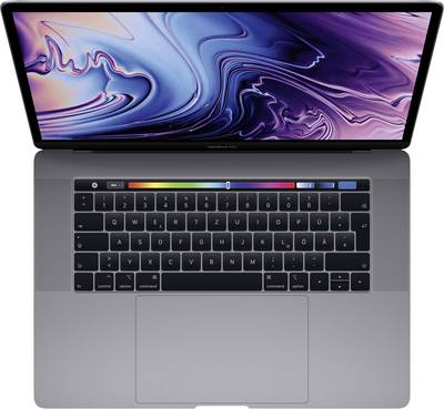 """Image of Apple MacBook Pro with Touch Bar and Touch ID 39.1 cm (15.4 """") Intel Core i7 16 GB 256 GB SSD AMD Radeon Pro macOS High"""