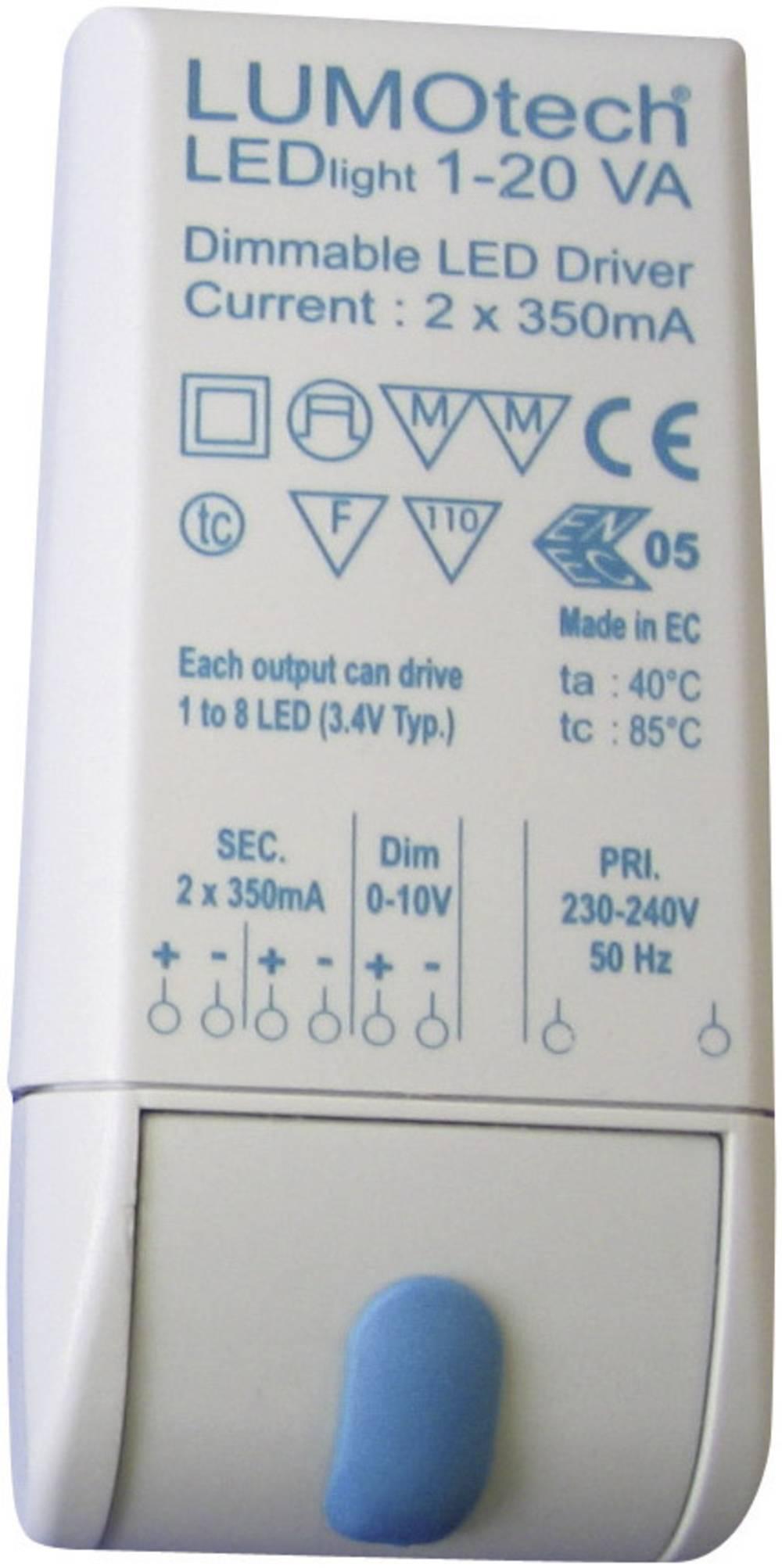 LED pretvarač 350 mA 30 V/DC Power radni napon maks.: 32 V/DC
