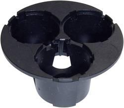 Nosilec optike, črni št. LED diod (maks.): 3 za LED: Luxeon® Star Hexagon