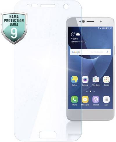 Search and compare best prices of Hama Premium Crystal Glass Glass screen Compatible with (mobile phones): Samsung Galaxy A8 (2018) 1 pc(s) in UK