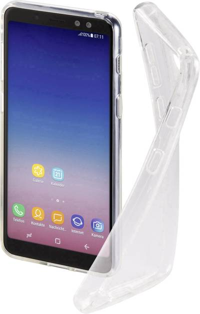 Search and compare best prices of Hama Crystal Clear Back cover Compatible with (mobile phones): Samsung Galaxy A8 (2018) Transparent in UK