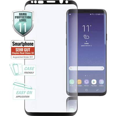 Image of Hama 3D Full Screen Glass screen protector Compatible with: Samsung Galaxy A6+ (2018) 1 pc(s)
