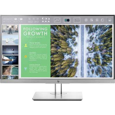 Image of HP EliteDisplay E243 LED 60.5 cm (23.8 ) EEC A+ (A++ - E) 1920 x 1080 p Full HD 5 ms DisplayPort, HDMI™, VGA, USB 3.0 IPS LED